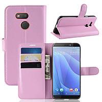 Чехол-книжка Litchie Wallet для HTC Desire 12s Pink