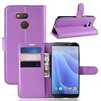 Чехол-книжка Litchie Wallet для HTC Desire 12s Violet