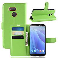Чехол-книжка Litchie Wallet для HTC Desire 12s Green
