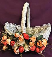 Корзина плетенная на пасху средняя (40*33*23), фото 1