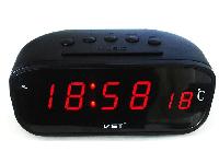 Авточасы VST 803C-1 красные