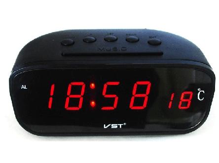 Авточасы VST 803C-1 красные, фото 2