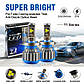 Светодиодные LED лампы T1 HB4 9006 для автомобиля | автолампы HeadLight Xenon | автомобильные лед лампы, фото 3