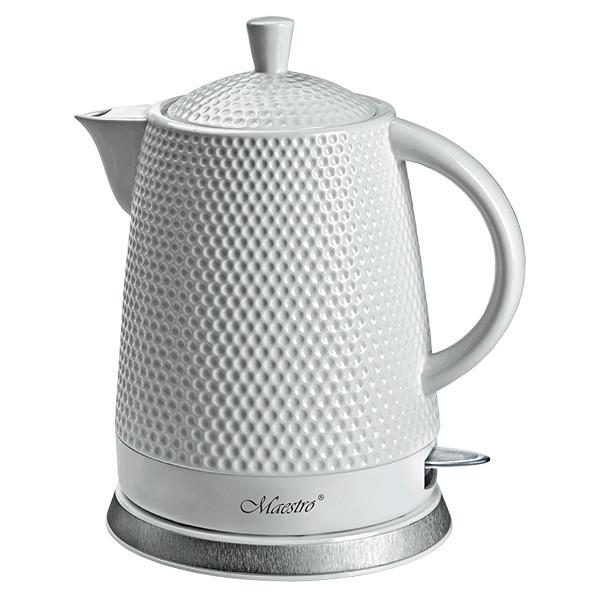 Керамический электрочайник Maestro MR-069 (1,5 л, 1200 Вт) | кухонный электрический чайник Маэстро, Маестро