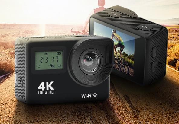 Экшн камера S8 - Full HD 4K Wi-Fi  с пультом ДУ
