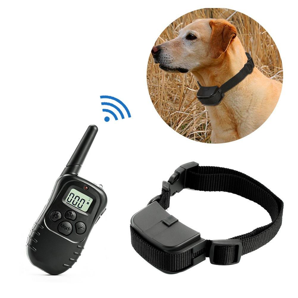 Электроошейник для дрессировки собак Remote Pet Training Collar 998D c ЖК дисплеем и пультом д/у | ошейник