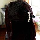 Крабик заколка с жемчугом на волосы, фото 8