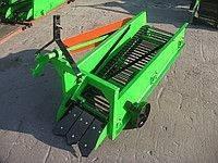 Картофелевыкапыватель ДТЗ 1Н (транспортерный, эксцентрик, отрезные диски, без  карданного вала)