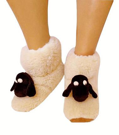 Хутряні капці Овечки Sheepskin Розмір 34-35, фото 2