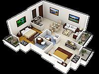План ремонта квартиры. Перепланировка. Дизайн интерьера.