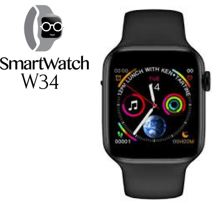 Смарт часы наручные W34.Умные часы Smart Watch W34