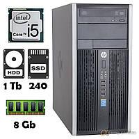 Компьютер HP 6300 (i5-3330/4Gb/1Tb/ssd 240Gb) БУ, фото 1