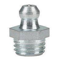 Тавотница (пресс-масленка) М6х1 прямая DIN 71412А, оцинкованная
