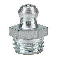 Тавотница (прес-маслянка) М6х1 пряма DIN 71412А, оцинкована
