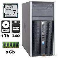 Компьютер HP 6300 (i7-2600S/8Gb/1Tb/ssd 240Gb) БУ, фото 1