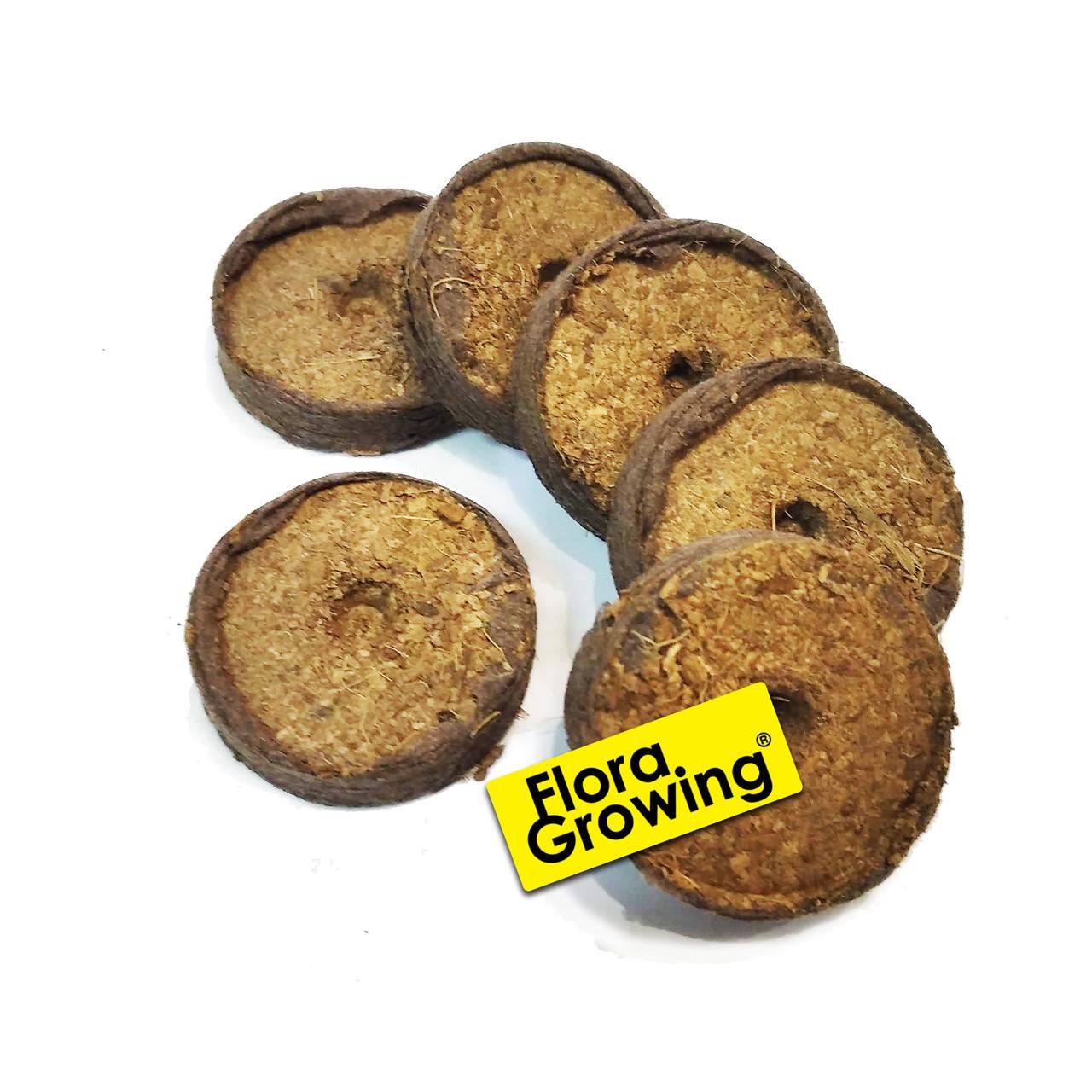 Таблетки кокосовые для проращивания Ellegaard 36мм - Дания