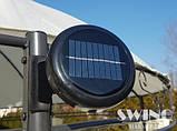 Круглый павильон Swing & harmonie 3.5 м Коричневый  с LED освещением, фото 3
