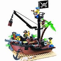 Конструктор Brick Enlighten Пиратская серия 306 (Разбитый корабль), фото 1