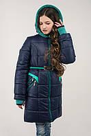 Зимнее пальто на девочку Амалия  на подростков разные цвета 140,146,152 р