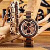 Подарочный набор часы Bobo Bird R21 + деревянный браслет Original, фото 3