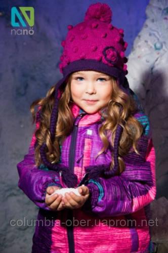 Зимний костюм для девочки NANO 284 M F14 Purple. Размер 134.