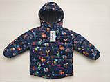 Куртка детская утепленная на флисе, фото 4