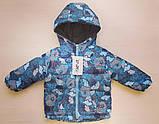 Куртка детская утепленная на флисе, фото 6