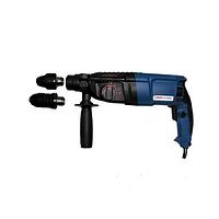 Перфоратор Витязь ПЭ-1100-ДФР (1100 Вт, П-30 мм SDS+, горизонтальный)