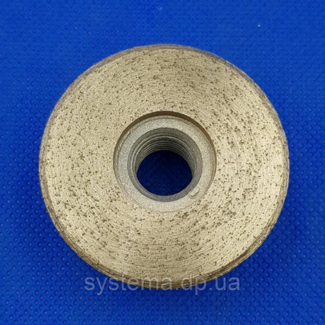 Гайка-фреза алмазная по керамограниту, зерно 100/120 - Distar DGW-S 49/M14 Hard Ceramics