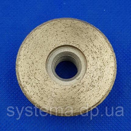 Гайка-фреза алмазная по керамограниту, зерно 100/120 - Distar DGW-S 49/M14 Hard Ceramics, фото 2
