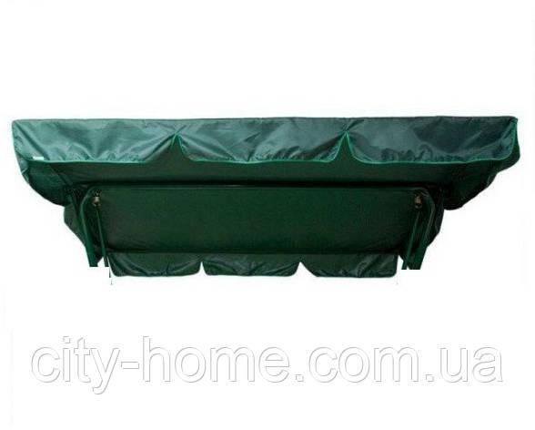 Тент 210 х 121 см для садових гойдалок Комфорт М (Білорусь), фото 2