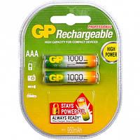 Аккумуляторная батарейка 1000 mAh, GP R03, цена за 1 шт