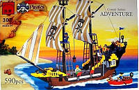 Конструктор Brick Enlighten Пиратская серия 307 (Приключения пиратского корабля), фото 1