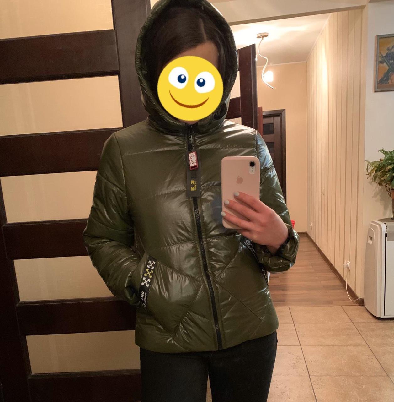 Весенняя курточка на девочку (рр.134-158)