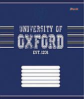 Тетрадь ученическая А5/36 клетка 1 Вересня OXFORD классик-15