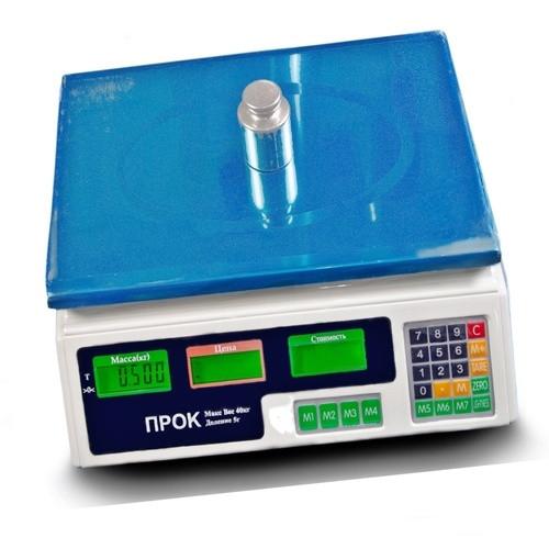 Весы торговые ПРОК ВТ-40 (40 кг)