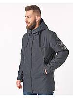 Летняя мужская куртка серая (46-54рр)