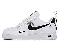 Кроссовки в стиле Nike Air Force 1 `07 Utility Low white/black 40 размер