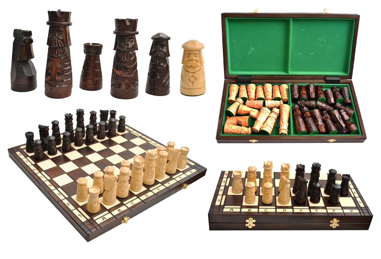Шахматы настольные деревянные MUMINEK