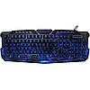 Игровая клавиатура с подсветкой молния Atlanfa M200, фото 4