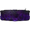 Игровая клавиатура с подсветкой молния Atlanfa M200, фото 3
