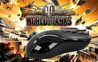 Мышка проводная USB M31 Танки, компьютерная мышка Worl of Tanks, мышь для компьютера ноутбука