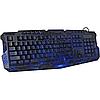 Игровая клавиатура с подсветкой молния Atlanfa M200, фото 10