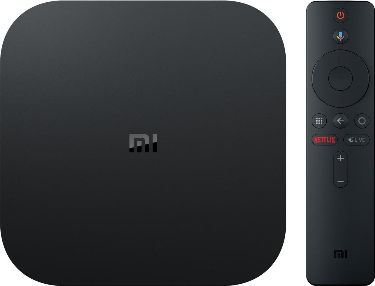 Приставка Smart TV Xiaomi 4K Mi Box S 2/8 GB (Міжнародна версія) (MDZ-22-AB)