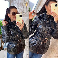 Яркая демисизонная  курточка. РАЗМЕРЫ С-42 М-44 Л-46 ХЛ-48 (9142)