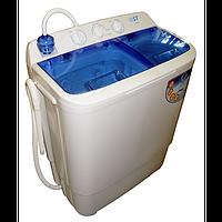 Стиральная машина с центрифугой ST  22-460-81( 8 кг, помпа, синий цвет крышки)