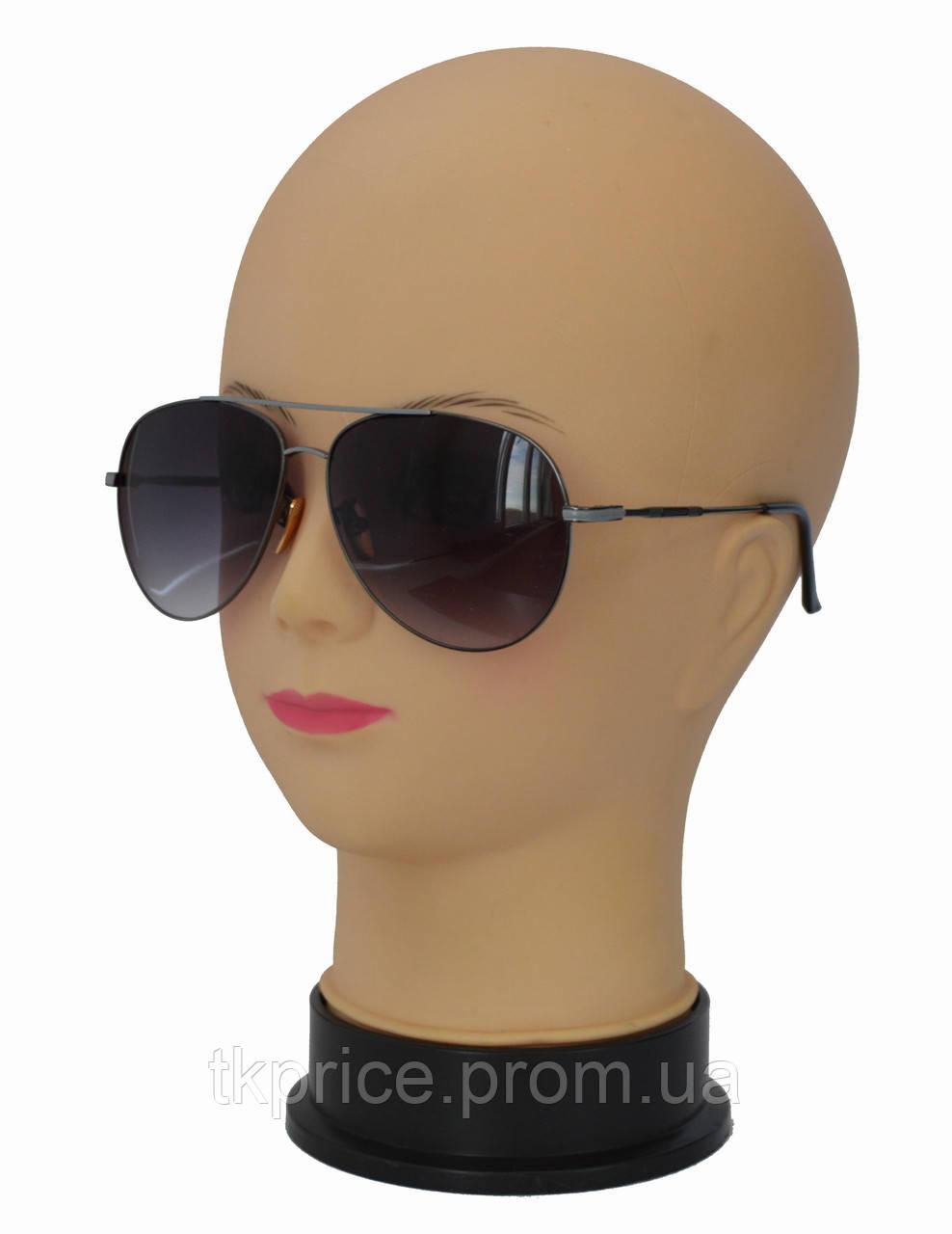 Стильные солнцезащитные очки авиатор 8005