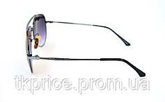 Стильные солнцезащитные очки авиатор 8005, фото 3