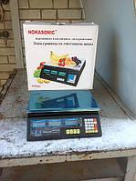 Торговые весы Nokasonic ACS-30 (40кг)