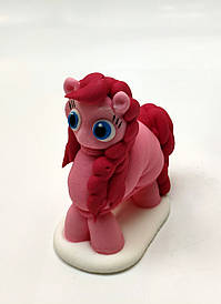 """Цукрова фігурка """"Рожевий поні"""""""